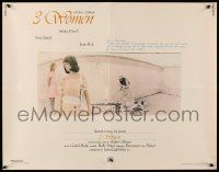 7k006 3 WOMEN 1/2sh '77 directed by Robert Altman, Shelley Duvall, Sissy Spacek, Janice Rule