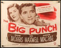 7k032 BIG PUNCH style A 1/2sh '48 Gordon MacRae kissed his way into trouble, boxing!