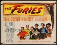 7k102 FURIES style A 1/2sh '50 Barbara Stanwyck, Wendell Corey, Walter Huston, Anthony Mann!