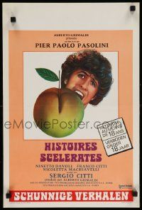 7m018 BAWDY TALES Belgian '74 Storie Scellerate, Pier Paolo Pasolini sex!