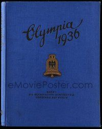 7s006 OLYMPIA 1936 set of 2 German hardcover books '36 most incredible visual & written history!
