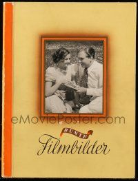 7s013 BUNTE FILMBILDER German 9x12 cigarette card album '36 contains 250 cards with color borders!