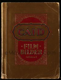 7s015 CAID FILMBILDER German 9x12 cigarette card album '33 contains 327 cards on 36 pages!