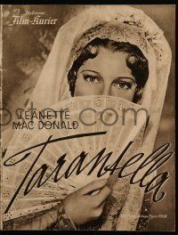 7s068 FIREFLY German program '38 many different images of pretty Jeanette MacDonald!