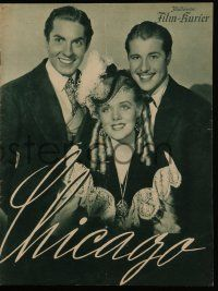 7s080 IN OLD CHICAGO German program '38 Tyrone Power, Alice Faye & Don Ameche, different images!
