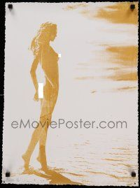 7w002 AELHRA signed 17x24 art print '12 by the artist, incredibly sexy naked woman on beach, 2/5!