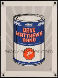 7w012 DAVE MATTHEWS BAND signed 18x24 music poster '10 by an artist from Methane Studios, 39/500!