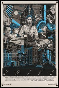 7w016 DRIVE signed & hand-numbered 24x36 special '11 by artist Tyler Stout, Mondo, 19/250!