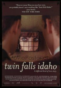 7w043 TWIN FALLS IDAHO signed 1sh '99 by twin brothers Michael Polish and Mark Polish!