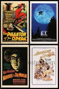 8a034 LOT OF 9 UNIVERSAL MASTERPRINTS '01 all the best movies including Frankenstein!