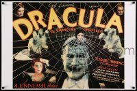 8c610 DRACULA 24x36 commercial poster '93 Tod Browning, Bela Lugosi vampire classic!