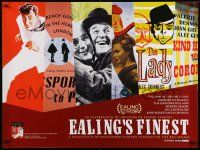 8c560 EALING'S FINEST film festival British quad '02 The Lavender Hill Mob, Alec Guiness + more!