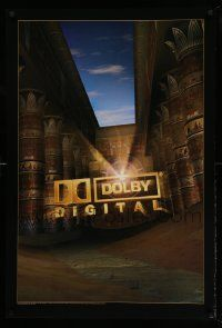 8c405 DOLBY DIGITAL DS 27x40 special '97 image of ancient columns and the Dolby logo!
