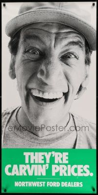 28f78b4aa391 8c512 JIM VARNEY 24x48 advertising poster  80s for Northwest Ford ...