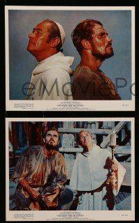 8d008 AGONY & THE ECSTASY 12 color 8x10 stills '65 Charlton Heston, Rex Harrison, Diane Cilento