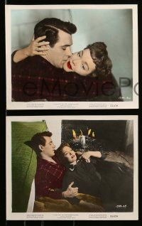 8d040 ALL THAT HEAVEN ALLOWS 8 color 8x10 stills '55 Rock Hudson, Jane Wyman, Douglas Sirk!