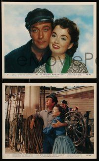 8d009 ALL THE BROTHERS WERE VALIANT 12 color 8x10 stills '53 Robert Taylor, Granger, Ann Blyth!