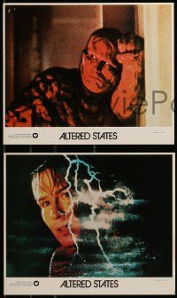 8d011 ALTERED STATES 12 8x10 mini LCs '80 Ken Russell directed, William Hurt, Blair Brown!
