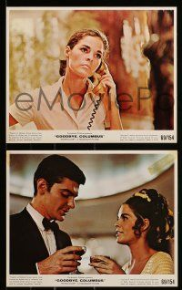 8d012 GOODBYE COLUMBUS 12 color 8x10 stills '69 great images of Richard Benjamin & Ali MacGraw!