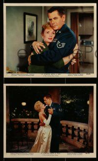 8d014 IT STARTED WITH A KISS 12 color 8x10 stills '59 Glenn Ford, Debbie Reynolds, Eva Gabor!