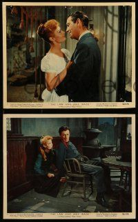 8d033 LAW & JAKE WADE 9 color 8x10 stills '58 Robert Taylor, Richard Widmark & Patricia Owens!