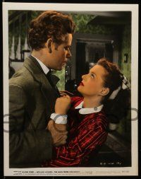 8d034 MAN FROM COLORADO 9 color 8x10 stills '48 Glenn Ford, William Holden, pretty Ellen Drew!