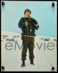 8d004 PATTON 20 color deluxe 8x9.75 stills '70 George C. Scott as legendary World War II general!