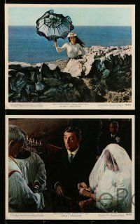 8d005 RYAN'S DAUGHTER 14 color 8x10 stills '70 David Lean candid, Sarah Miles, Howard, Mitchum!