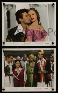 8d035 SON OF ALI BABA 9 color 8x10 stills '52 Tony Curtis, Piper Laurie, Susan Cabot
