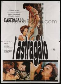 8j017 ASTRAGAL Italian 2p '68 different images of Guy Casaril & sexy Marlene Jobert!