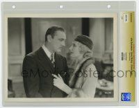 8s012 ARSENE LUPIN slabbed 8x10.25 still '32 c/u of jewel thief Lionel Barrymore with Karen Morely!