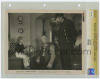 8s017 CAPTAIN JANUARY slabbed 8x10 still '36 Shirley Temple, Guy Kibbee & Slim Summerville by globe!