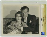 8s020 DOCTOR'S SECRET slabbed 8x10 still '29 John Loder holding Ruth Chatterton by Richee, lost film