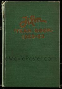 8s034 FILM DAILY YEARBOOK OF MOTION PICTURES hardcover book '23 filled with movie information!