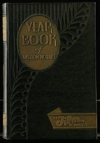 8s038 FILM DAILY YEARBOOK OF MOTION PICTURES hardcover book '34 loaded with movie information!