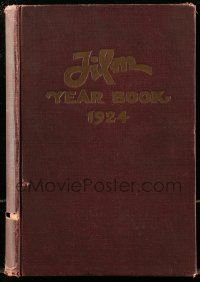 8s035 FILM DAILY YEARBOOK OF MOTION PICTURES hardcover book '24 filled with movie information