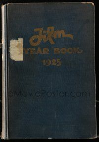 8s036 FILM DAILY YEARBOOK OF MOTION PICTURES hardcover book '25 filled with movie information