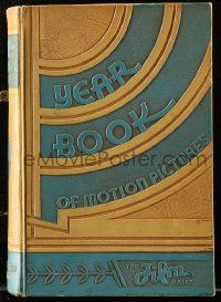 8s039 FILM DAILY YEARBOOK OF MOTION PICTURES hardcover book '35 filled with movie information