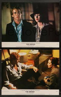8w137 DRIVER 8 color 11x14 stills '78 Walter Hill, Ryan O'Neal, Bruce Dern & sexy Isabelle Adjani!