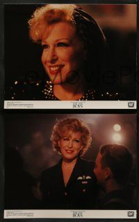 8w160 FOR THE BOYS 8 color 11x14 stills '91 Bette Midler entertains troops in WWII, James Caan