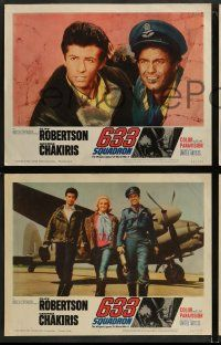 8w023 633 SQUADRON 8 LCs '64 Cliff Robertson, George Chakiris, The Winged Legend of World War II!