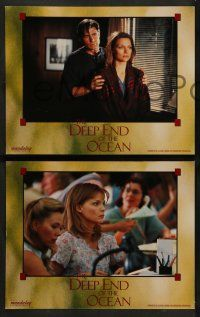 8w123 DEEP END OF THE OCEAN 8 LCs '99 Michelle Pfeiffer, Treat Williams, Whoopi Goldberg