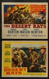 8w125 DESERT RATS 8 LCs '53 Australian & New Zealand soldiers fight against Nazis!