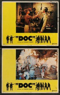 8w133 DOC 8 LCs '71 cool images of Stacy Keach, Faye Dunaway & Harris Yulin!