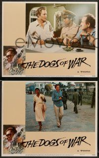 8w134 DOGS OF WAR 8 LCs '81 Jung border artwork of Christopher Walken with really BIG gun!
