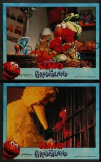 8w140 ELMO IN GROUCHLAND 8 LCs '99 Sesame Street Muppets, Mandy Patinkin, Vanessa Williams