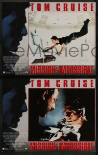 8w012 MISSION IMPOSSIBLE 10 export LCs '96 Tom Cruise, Jean Reno, Brian De Palma directed!