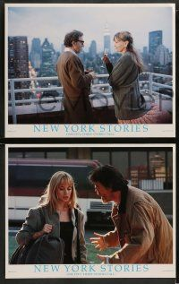 8w019 NEW YORK STORIES 9 LCs '89 Woody Allen, Martin Scorsese, Francis Ford Coppola
