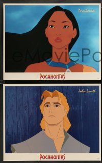 8w004 POCAHONTAS 16 LCs '95 Walt Disney Native American Indian cartoon, great images!