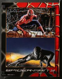 8w015 SPIDER-MAN 3 10 LCs '07 Sam Raimi, Tobey Maguire, Kirsten Dunst, James Franco!